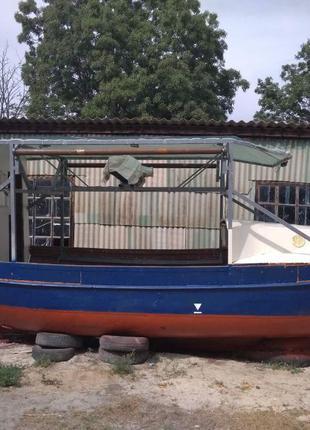 Продам промысловый баркас катер яхта ял на рапана ямаха 60