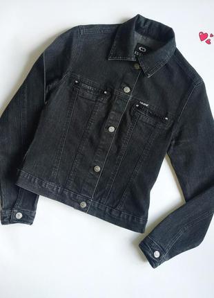 Пиджак issis джинсовый,куртка с декоративными пуговицами