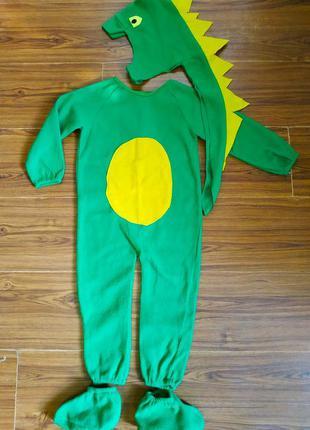 2-4 г,90-104 карнавальный костюм динозаврика,динозавр,дракон,д...