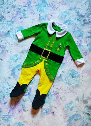 Человечек эльф,рождественский костюм,новогодний костюм эльфа