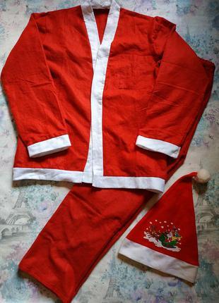 Карнавальный костюм санта клауса, новогодний костюм
