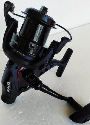 Мощная тяговая Карповая катушка Shark Black Pool 6000