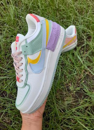 Женские Кроссовки Nike Air Force Shadow  / Найк Айр Форс.