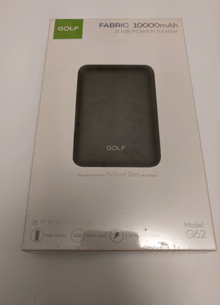 Внешний аккумулятор Power Bank Golf G62 10000mAh