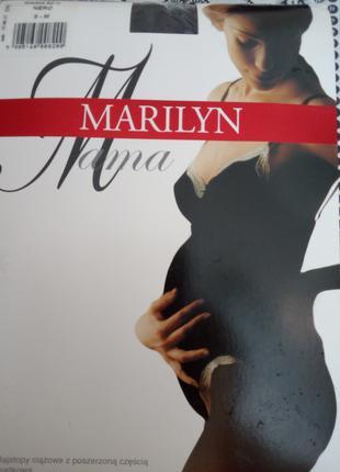 Колготы для беременных MARILYN 3-М 60Den черные