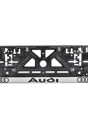 Рамка под номерной знак Audi Carlife NH12