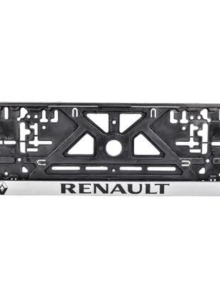 Рамка под номерной знак Renault Carlife NH20