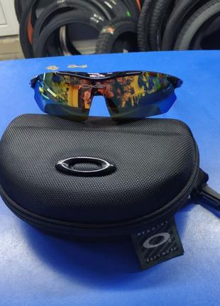 Очки тактические, темные Oakley, 5 линз в комплекте (oakley-5g...