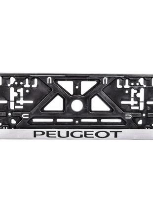 Рамка под номерной знак Peugeot Carlife NH23