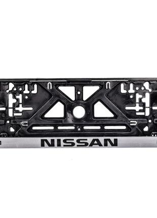 Рамка под номерной знак Nissan Carlife NH25