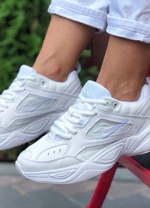 Удобные и модные Nike M2K Tekno (белые)