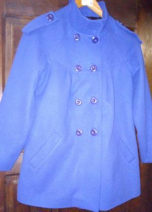 Пальто для беременных невысокого роста 145-154см размер М