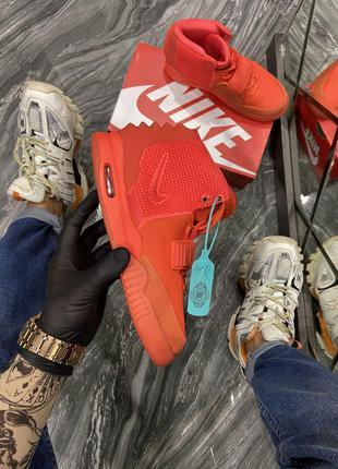 Кроссовки Nike Yeezy 2 Red