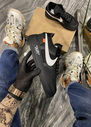 Кроссовки Nike Air Force 1 Low Off x White BLACK.