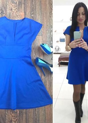 Платье электрик👗