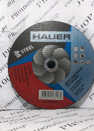 "Отрезной диск по металлу 230"" HAUER"