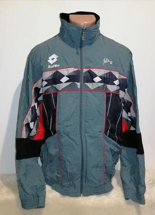 Ветровка мужская , спортивная куртка хл фирма lotto