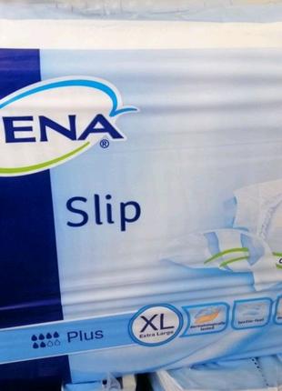 Подгузники для взрослых  Tena Slip Plus Extra Large XL