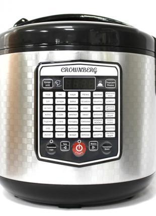 Мощная мультиварка Crownberg CB-5523 5L мультиповар