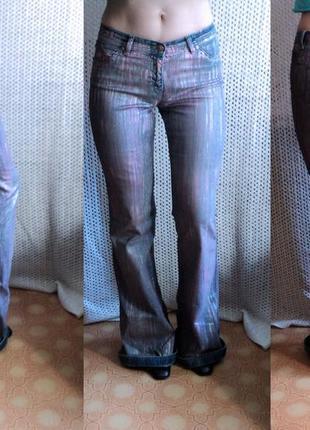 Расклешенные ретро джинсы w26l34 на высокую девушку, турция