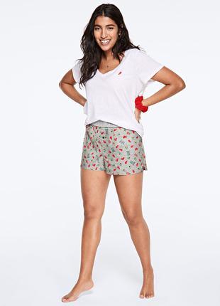 Пижама шорты Пинк Victoria's Secret