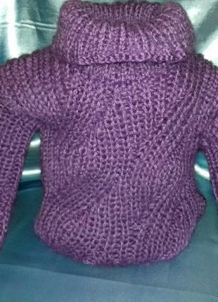 Детский вязаный свитер на ребёнка от 1года