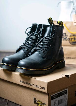 Ботинки демисезонные Dr. Martens 1460 Black