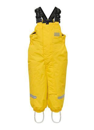 Зимний детский полукомбинезон для девочки 98-104 lego wear tec...