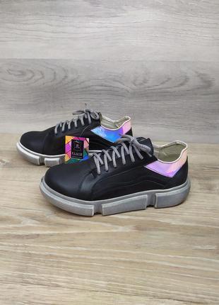 Кожаные кроссовки - натуральная кожа model 2278