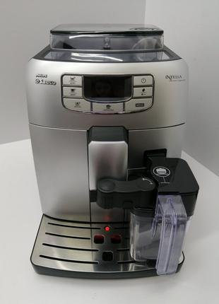 Кофемашина Philips Saeco Intelia One Touch Cappuccino HD8753/94 б