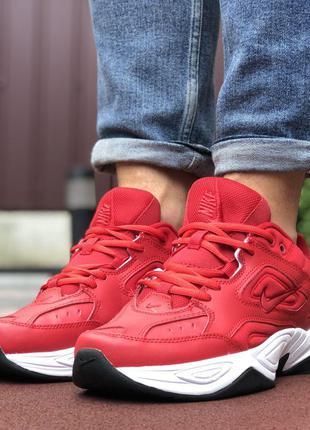 Nike M2K Tekno (красные)