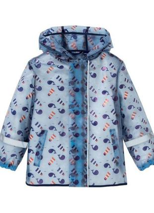 Куртка- дождевик lupilu на мальчика 86-92 на 1-2года.