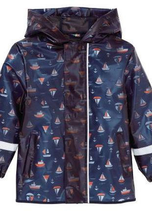 Куртка- дождевик lupilu на мальчика 98-104 на 2-4 года