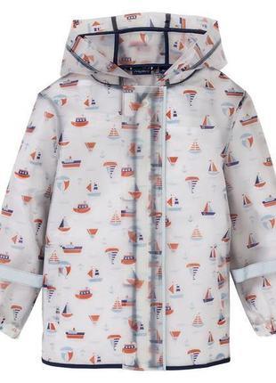 Куртка- дождевик lupilu на мальчика 122-128