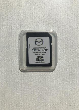 Навигация в Mazda 2 / Mazda 3 / Mazda 6 / Mazda CX-3 / Mazda CX-5