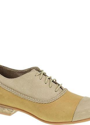 Туфли-оксфорды wolverine р.6,5us/37,5eur стелька 23,5 см