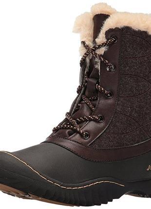 Ботинки jsport by jambu cтелька25,5см 8.5mus eur39,5