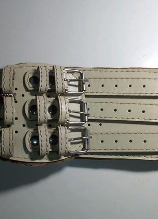 Кожаный пояс, ремень ортопедический для укрепления спины