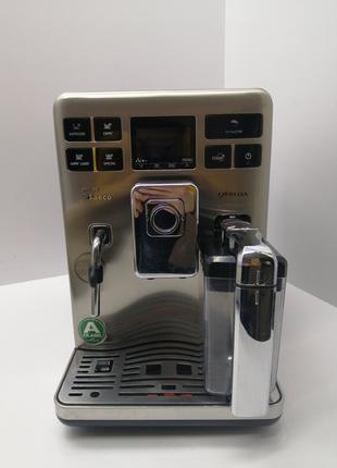 Кофеварка кофемашина Philips Saeco Exprelia б/у HD8856/09