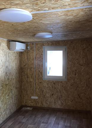 Бытовка-офис 6*2,4 m