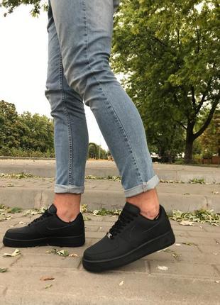 Кроссовки air force black