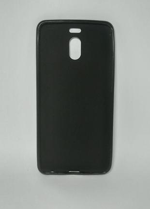 Задня накладка Meizu M6 Note сілікон чорний