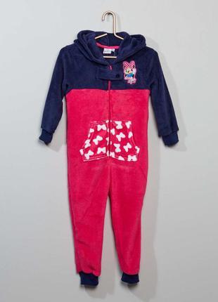Верхняя пижама 'minnie' в мягком трикотаже kiabi 3 года 90-97с...