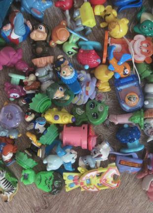 Кіндери. Іграшки. Киндеры. 100+ штук. В ідеальному стані.