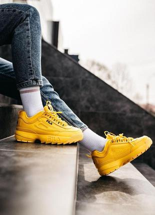 "▪️fila disruptor 2 ""yellow"""