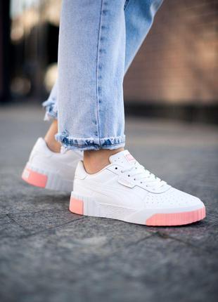 Кроссовки Puma Cali White Pink