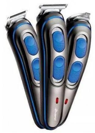 Беспроводная Машинка для стрижки волос GEMEI GM-587 + Триммер
