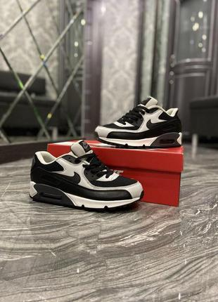 Кроссовки nike  air max 90 black grey