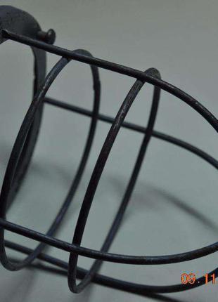 Защитная сетка на уличный фонарь светильник