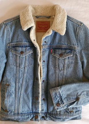 Теплая джинсовая куртка Levi's